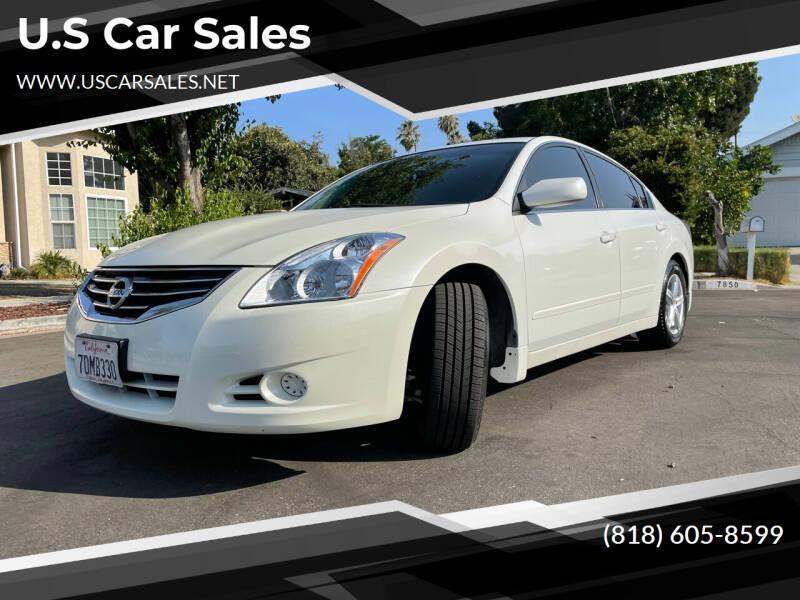 2012 Nissan Altima for sale at U.S Car Sales in Van Nuys CA