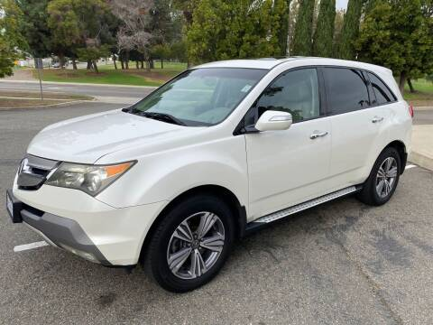 2008 Acura MDX for sale at Car Tech USA in Whittier CA