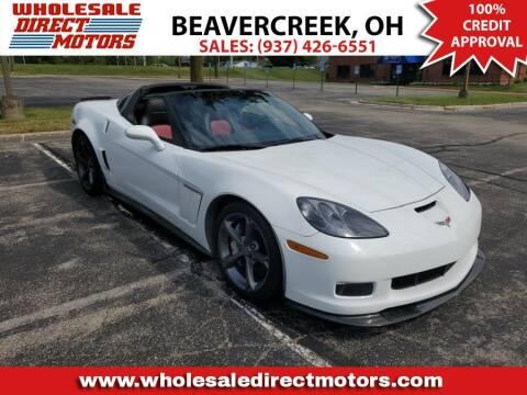 2011 Chevrolet Corvette for sale at WHOLESALE DIRECT MOTORS in Beavercreek OH