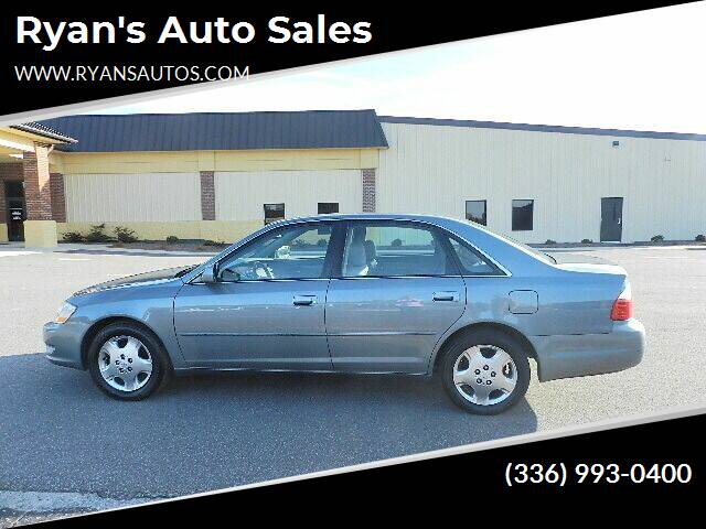 used 2004 toyota avalon for sale in greensboro nc carsforsale com carsforsale com