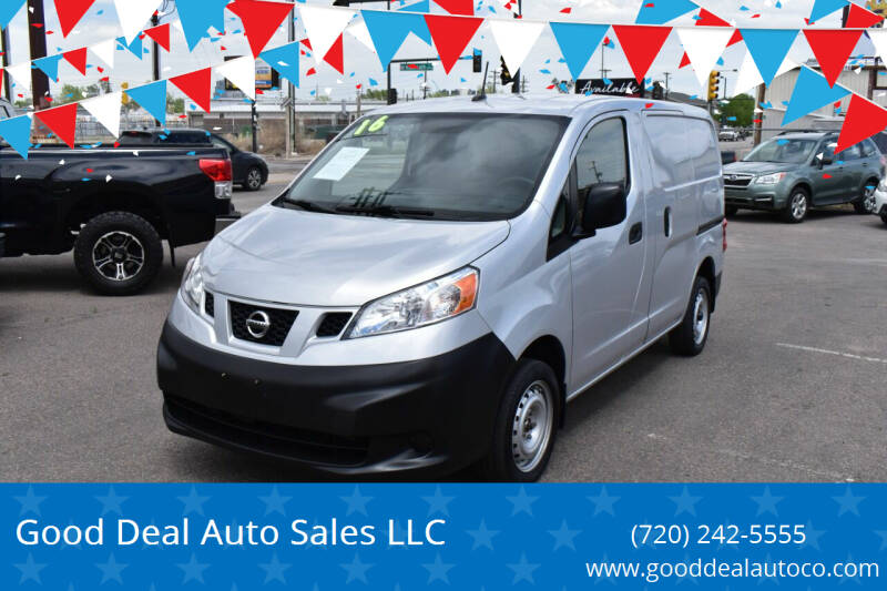 2016 Nissan NV200 for sale at Good Deal Auto Sales LLC in Denver CO