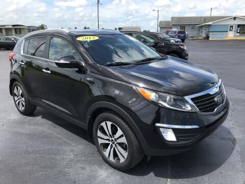 2013 Kia Sportage for sale at Huggins Auto Sales in Hartford City IN