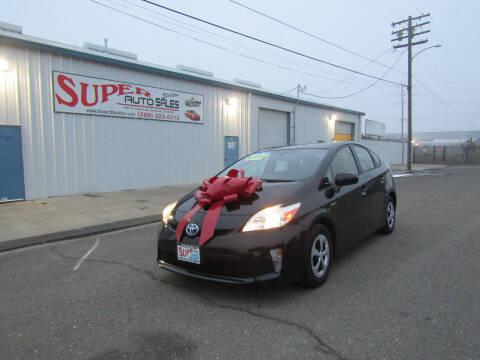 2014 Toyota Prius for sale at SUPER AUTO SALES STOCKTON in Stockton CA