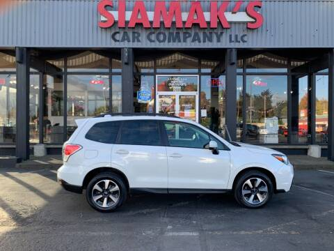 2018 Subaru Forester for sale at Siamak's Car Company llc in Salem OR