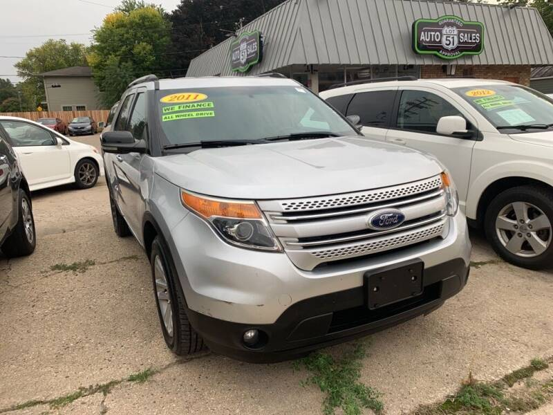 2011 Ford Explorer for sale at LOT 51 AUTO SALES in Madison WI