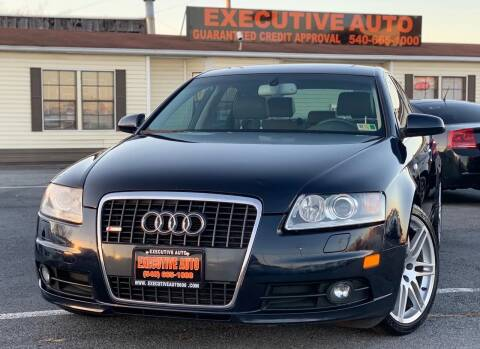 2008 Audi A6 for sale at Executive Auto in Winchester VA