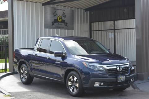 2017 Honda Ridgeline for sale at G MOTORS in Houston TX