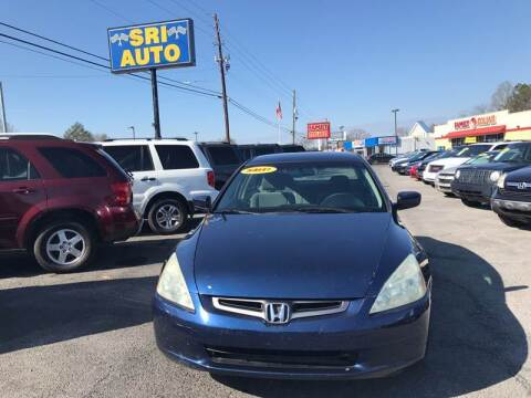 2005 Honda Accord for sale at SRI Auto Brokers Inc. in Rome GA
