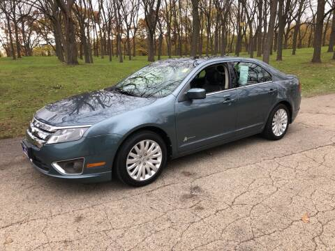 2012 Ford Fusion Hybrid for sale at CPM Motors Inc in Elgin IL