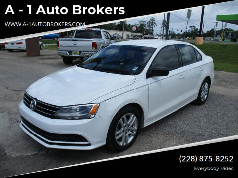 2015 Volkswagen Jetta for sale at A - 1 Auto Brokers in Ocean Springs MS