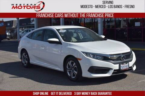 2017 Honda Civic for sale at Choice Motors in Merced CA