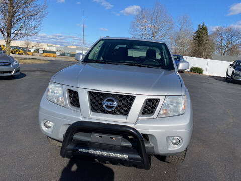 2012 Nissan Frontier for sale at Boardman Auto Exchange in Youngstown OH