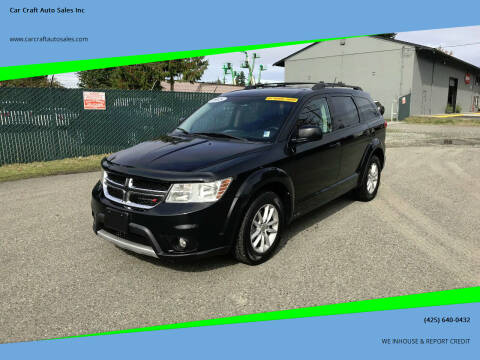 2015 Dodge Journey for sale at Car Craft Auto Sales Inc in Lynnwood WA