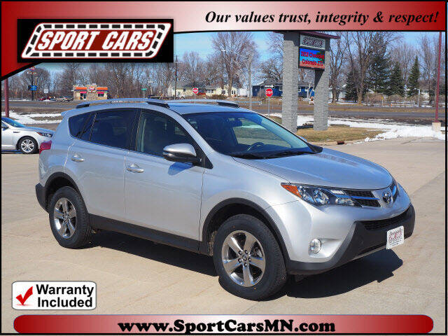 2015 Toyota RAV4 for sale at SPORT CARS in Norwood MN
