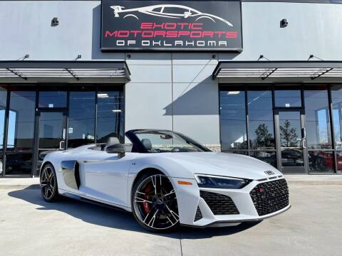 2020 Audi R8 for sale at Exotic Motorsports of Oklahoma in Edmond OK