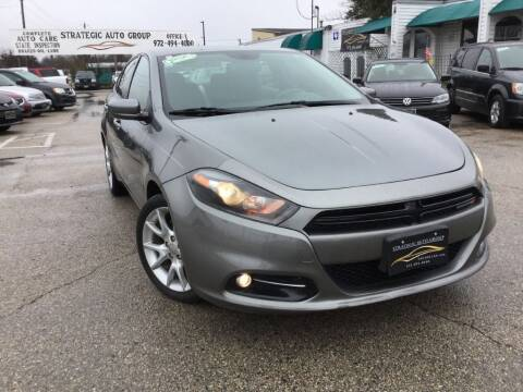 2013 Dodge Dart for sale at Strategic Auto Group in Garland TX