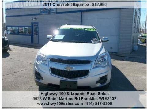 2011 Chevrolet Equinox for sale at Highway 100 & Loomis Road Sales in Franklin WI