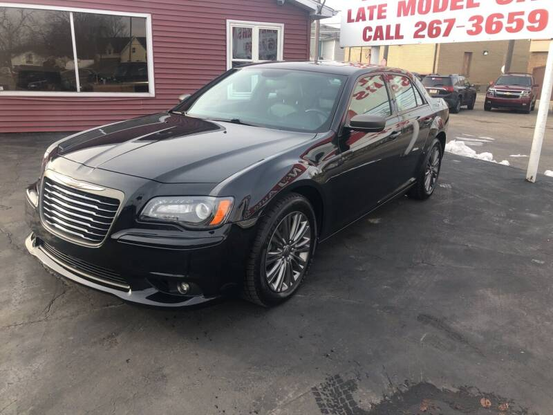 2014 Chrysler 300 for sale at N & J Auto Sales in Warsaw IN