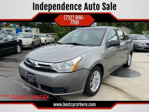 2008 Ford Focus for sale at Independence Auto Sale in Bordentown NJ