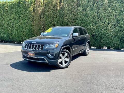 2016 Jeep Grand Cherokee for sale at Yaktown Motors in Union Gap WA