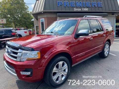 2015 Ford Expedition for sale at Premiere Auto Sales in Washington PA