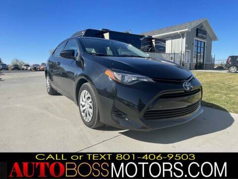 2017 Toyota Corolla for sale at Auto Boss in Woods Cross UT