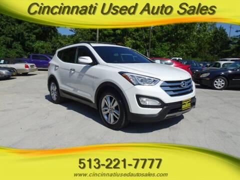 2014 Hyundai Santa Fe Sport for sale at Cincinnati Used Auto Sales in Cincinnati OH