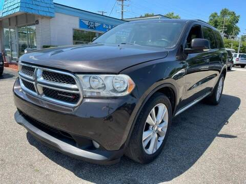 2012 Dodge Durango for sale at R&R Car Company in Mount Clemens MI