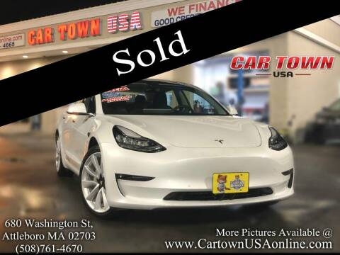 2018 Tesla Model 3 for sale at Car Town USA in Attleboro MA