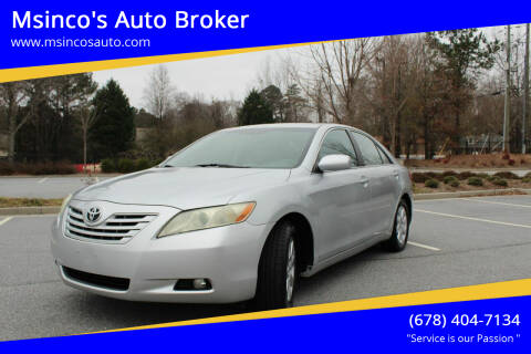 2007 Toyota Camry for sale at Msinco's Auto Broker in Snellville GA