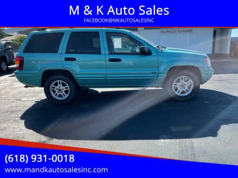 2004 Jeep Grand Cherokee for sale at M & K Auto Sales in Granite City IL