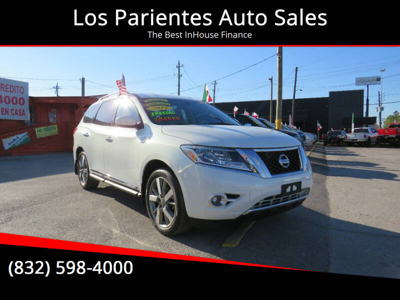 2014 Nissan Pathfinder for sale at Los Parientes Auto Sales in Houston TX
