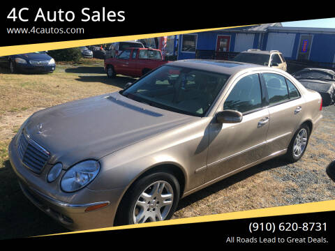 2006 Mercedes-Benz E-Class for sale at 4C Auto Sales in Wilmington NC