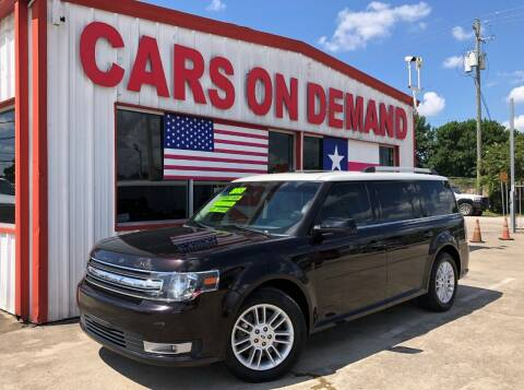 2013 Ford Flex for sale at Cars On Demand 2 in Pasadena TX