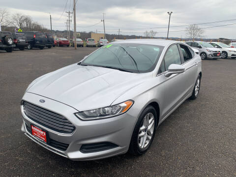 2014 Ford Fusion for sale at Carmans Used Cars & Trucks in Jackson OH