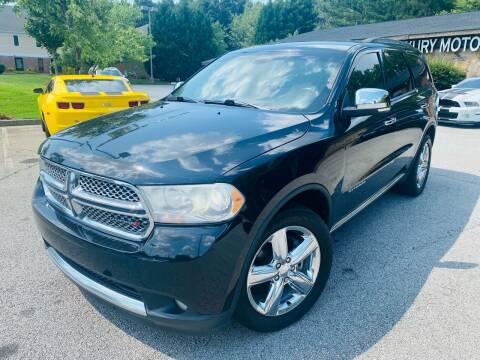 2013 Dodge Durango for sale at Classic Luxury Motors in Buford GA
