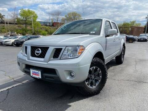 2017 Nissan Frontier for sale at Sonias Auto Sales in Worcester MA