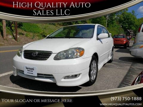 2007 Toyota Corolla for sale at High Quality Auto Sales LLC in Bloomingdale NJ
