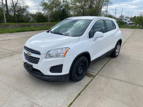 2015 Chevrolet Trax for sale at Mr. Auto in Hamilton OH