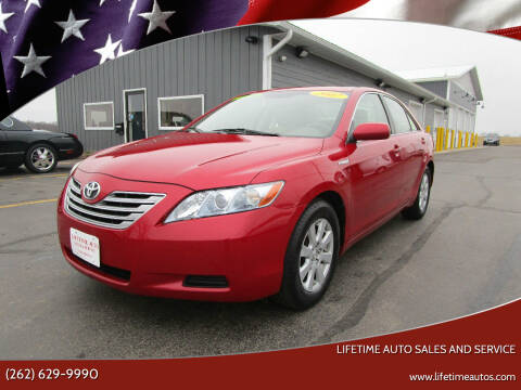2007 Toyota Camry Hybrid for sale at Lifetime Auto Sales and Service in West Bend WI