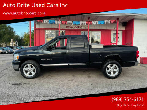2007 Dodge Ram Pickup 1500 for sale at Auto Brite Used Cars Inc in Saginaw MI