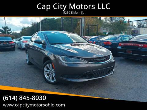 2017 Chrysler 200 for sale at Cap City Motors LLC in Columbus OH