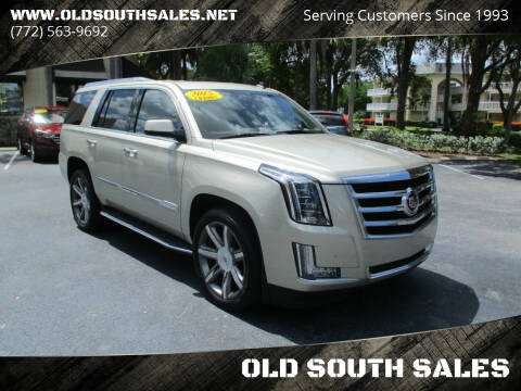 2015 Cadillac Escalade for sale at OLD SOUTH SALES in Vero Beach FL