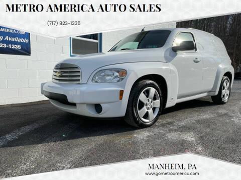 2009 Chevrolet HHR for sale at METRO AMERICA AUTO SALES of Manheim in Manheim PA