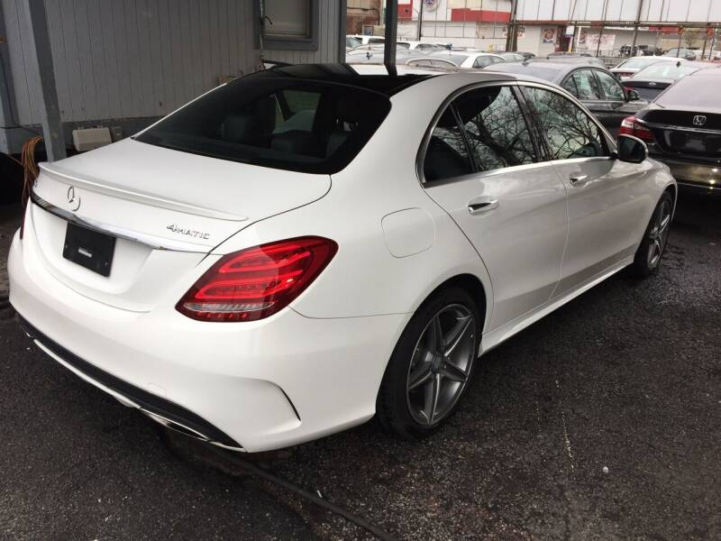 2015 Mercedes-Benz C-Class for sale at LUXURY OF QUEENS,INC in Long Island City NY