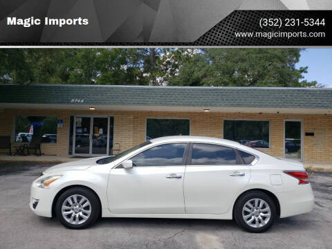 2015 Nissan Altima for sale at Magic Imports in Melrose FL