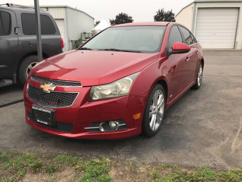 2012 Chevrolet Cruze for sale at Atlas Automotive Sales in Hayden ID