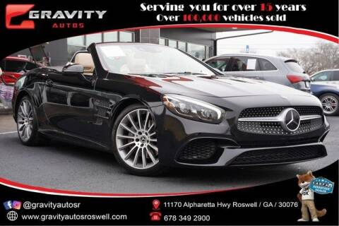 2018 Mercedes-Benz SL-Class for sale at Gravity Autos Roswell in Roswell GA