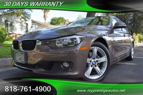2014 BMW 3 Series for sale at Prestige Auto Sports Inc in North Hollywood CA
