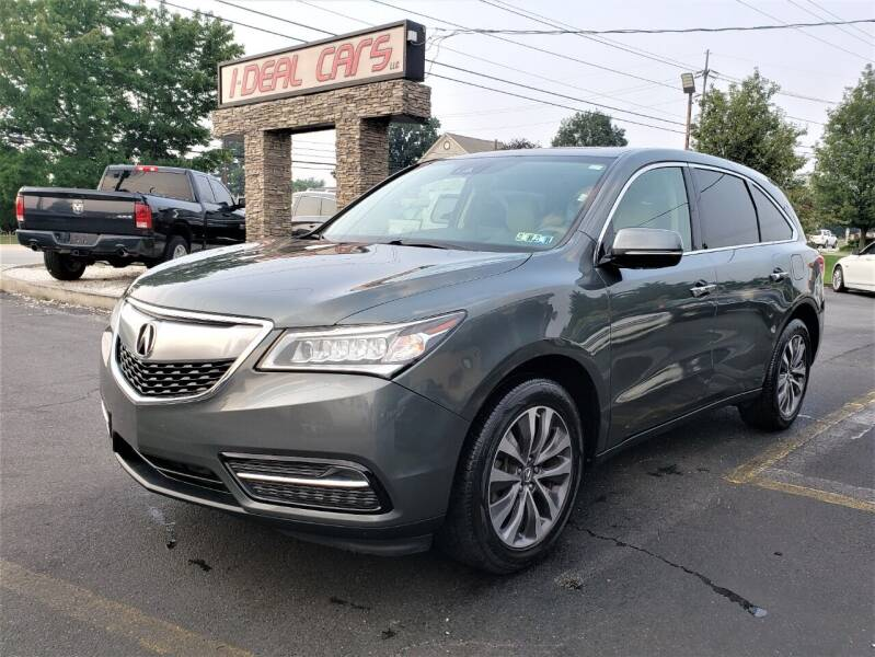 2016 Acura MDX for sale at I-DEAL CARS in Camp Hill PA
